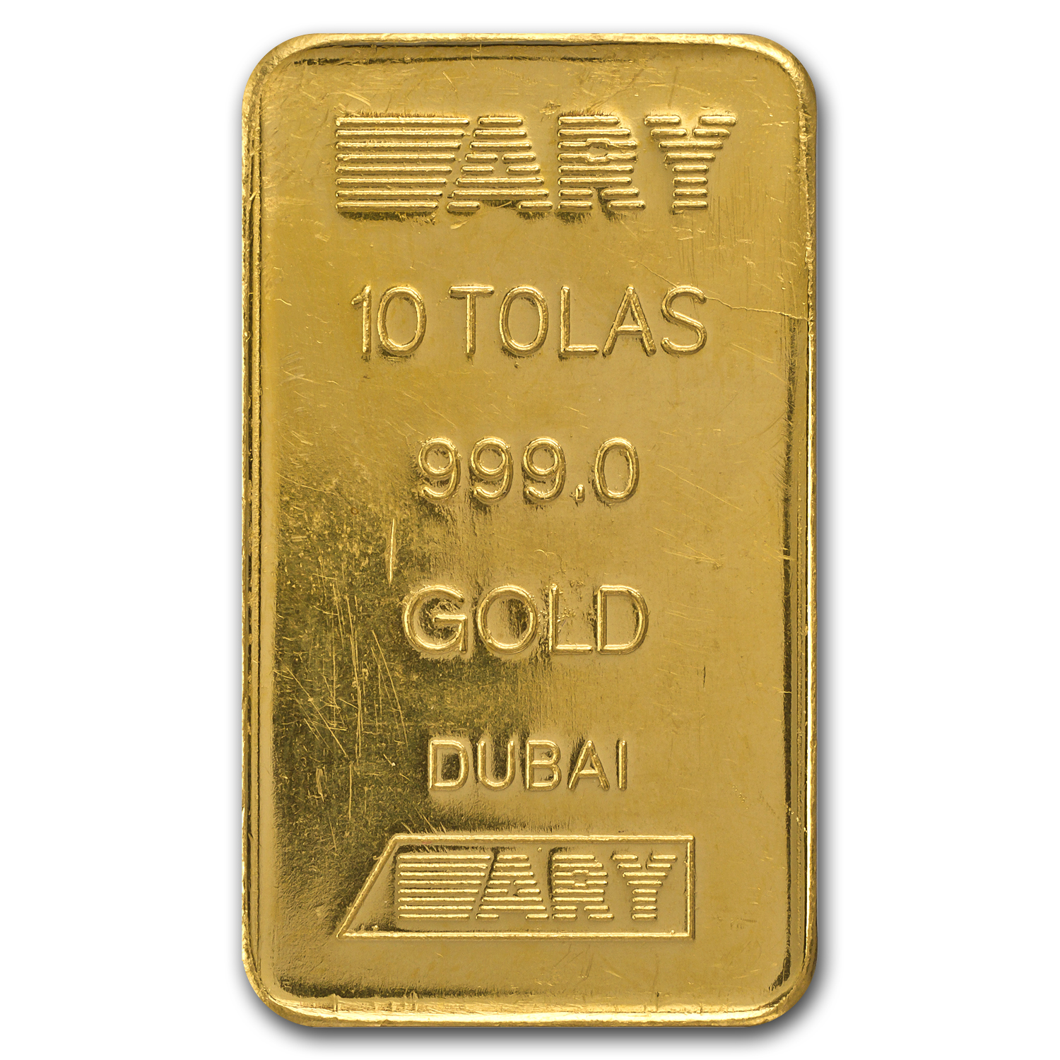 10 Tolas Gold Bar - Secondary Market (3.75 oz)