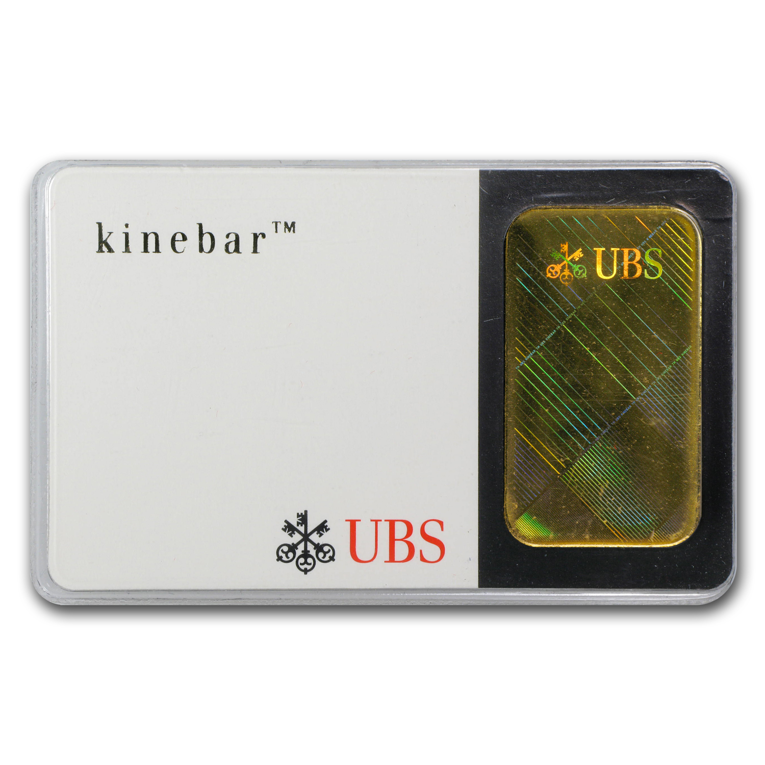 20 gram Gold Bar - UBS (Hologram, In Assay)