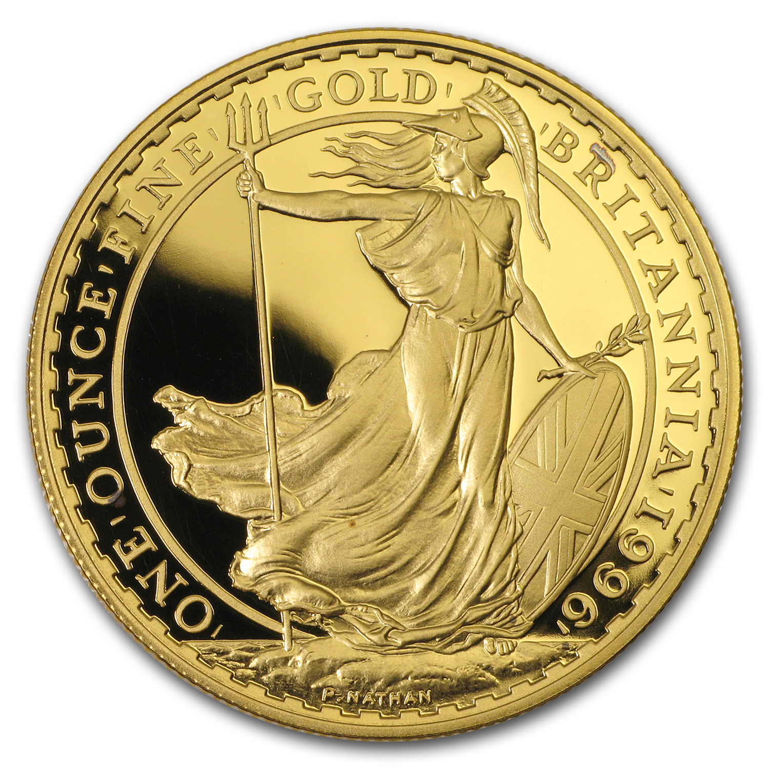 1996 Great Britain Proof Gold 1 oz Britannia