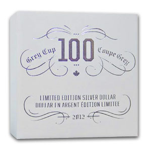 2012 Canada Proof Silver $1 - 100th Playing of the Grey Cup