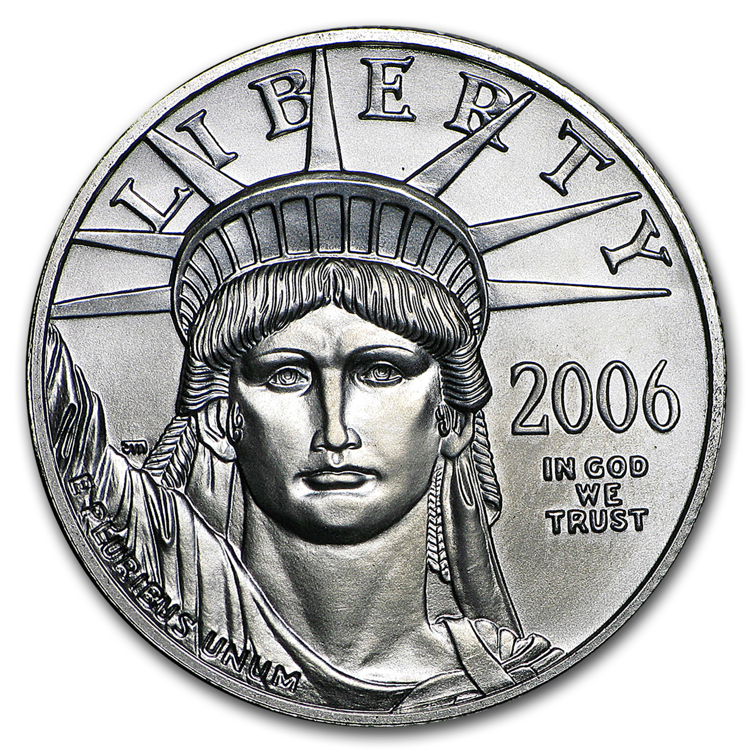 2006 1/2 oz Platinum American Eagle BU
