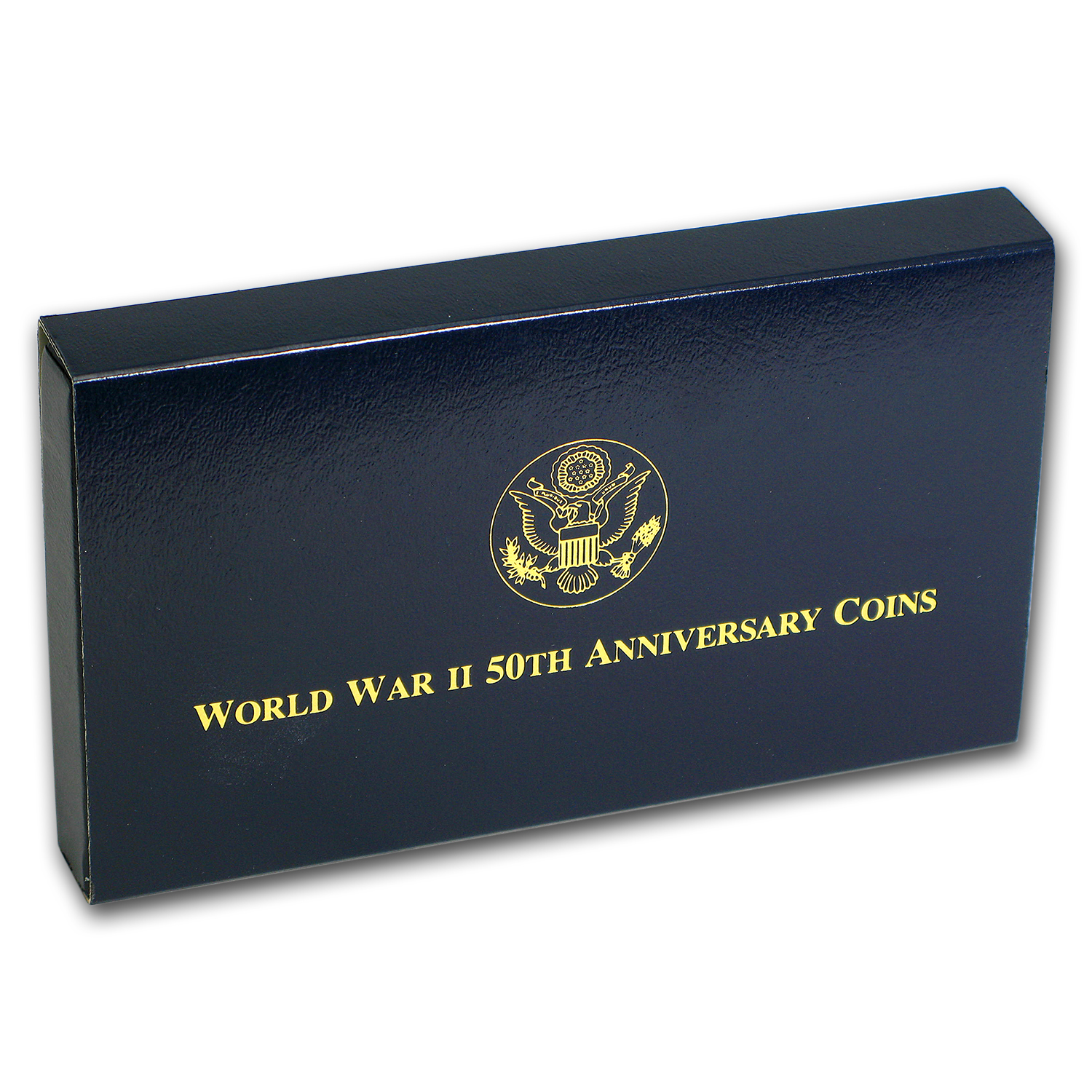 1993 3-Coin Commem World War II Proof Set (w/Box & COA)