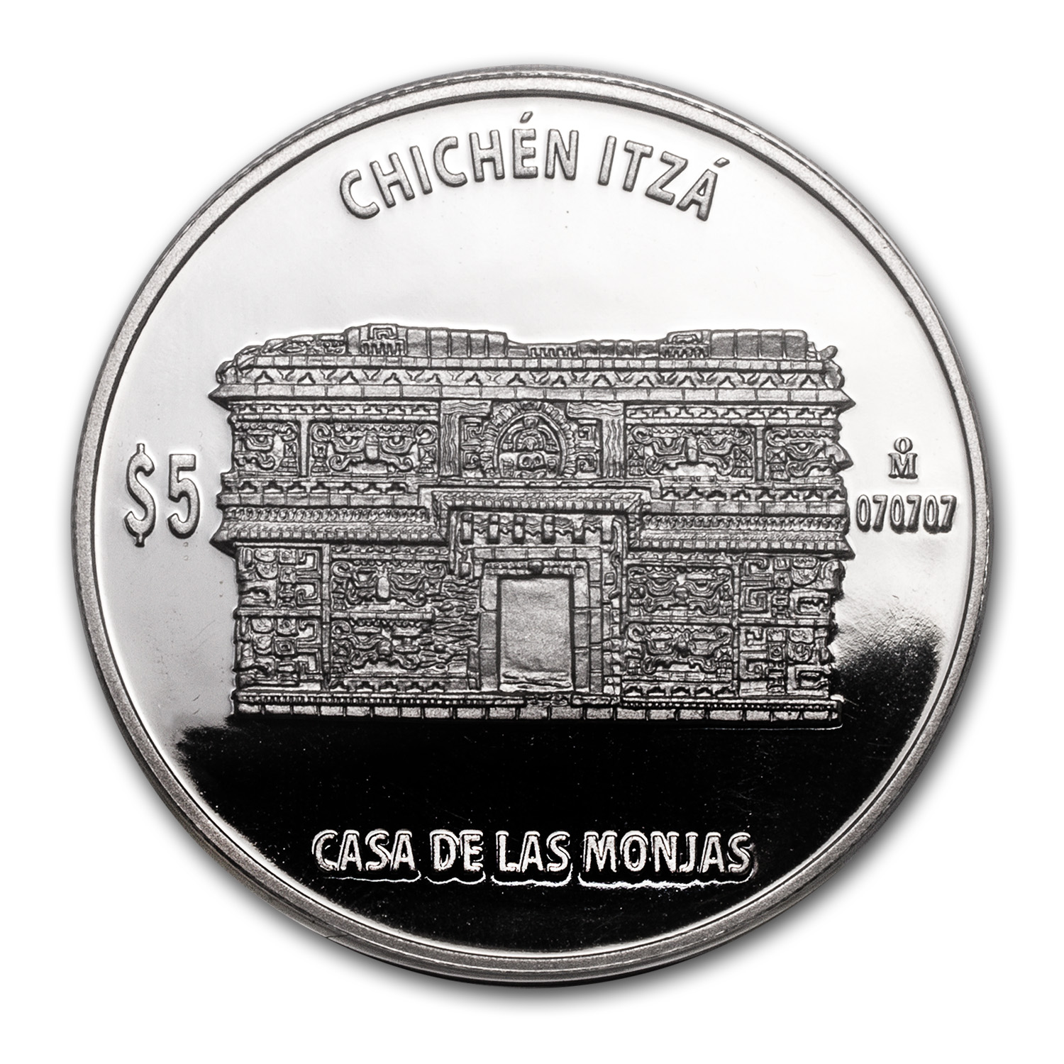 1 oz Proof Silver Casa de las Monjas (The Nunnery)