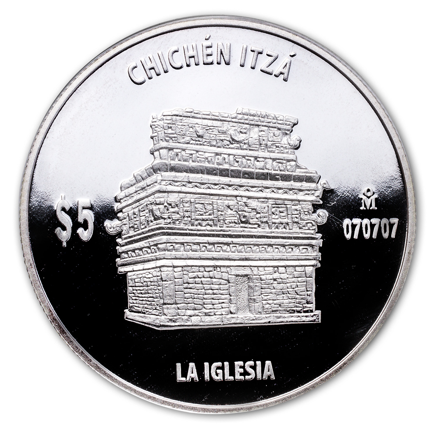 1 oz Proof Silver La Iglesia (The Church)