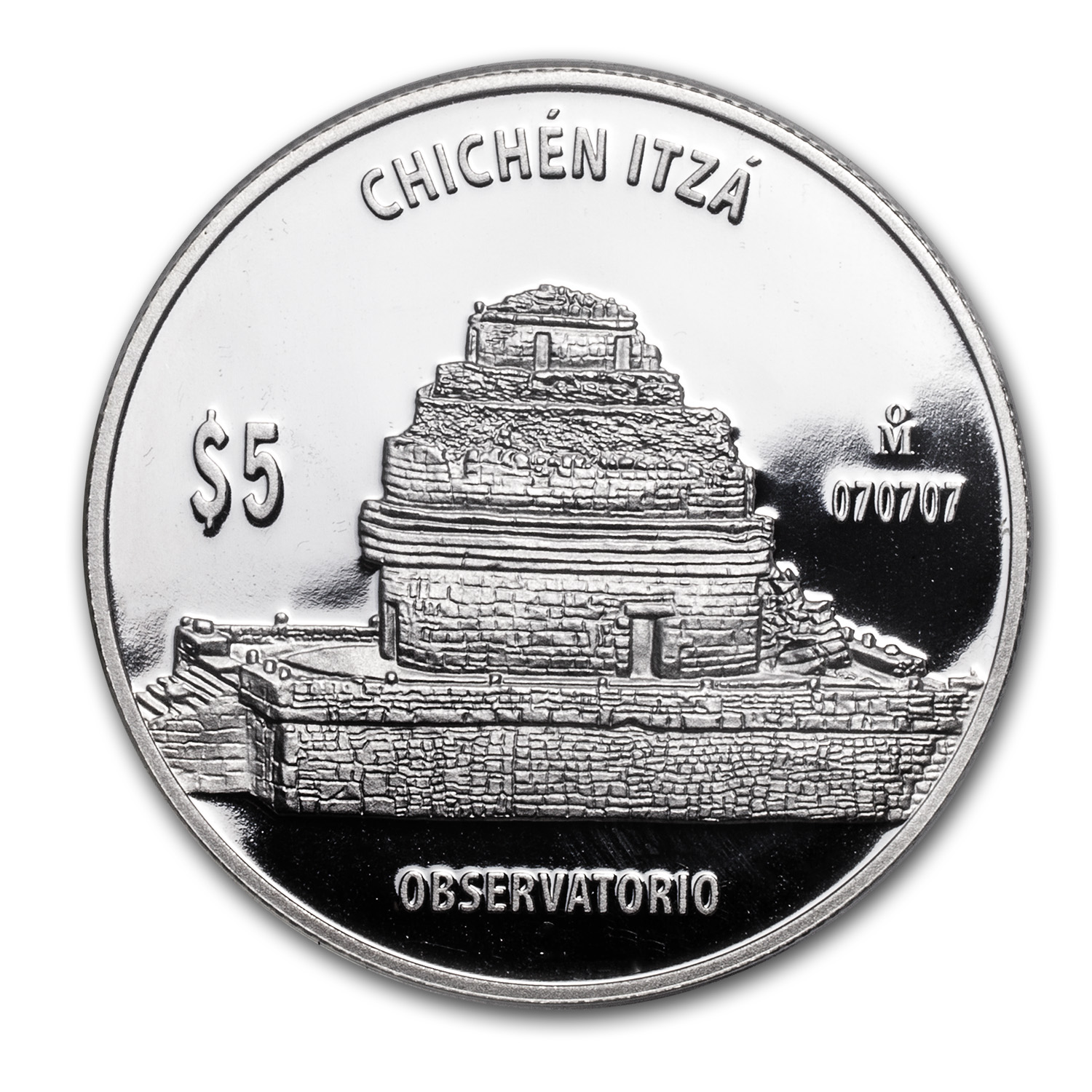 1 oz Proof Silver Observatorio (The Observatory)