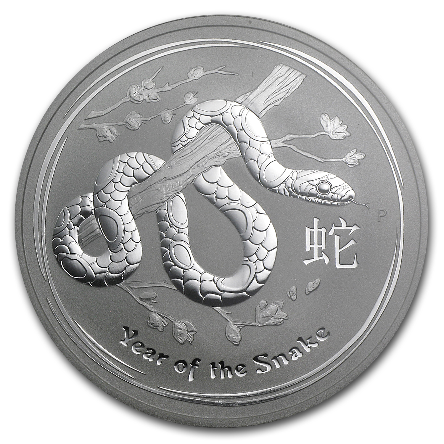 2013 1 oz Silver Australian Year of the Snake MS-70 NGC (ER)