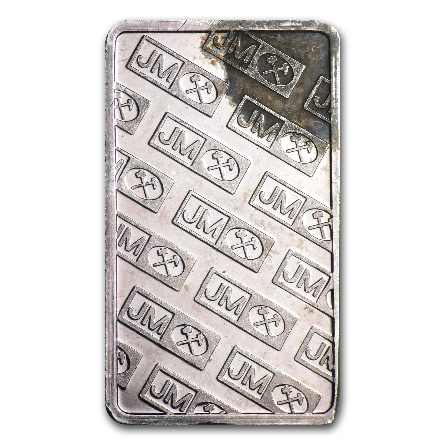 5 gram Silver Bar - Johnson Matthey (Scruffy)
