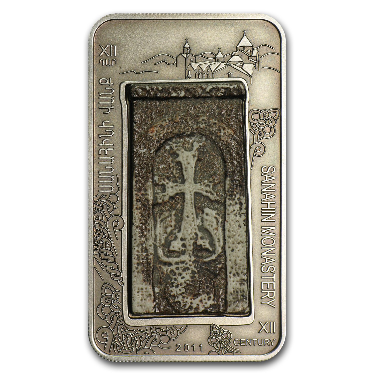 2011 Armenia 1000 Dram Cross-Stones of Armenia The Sanahin