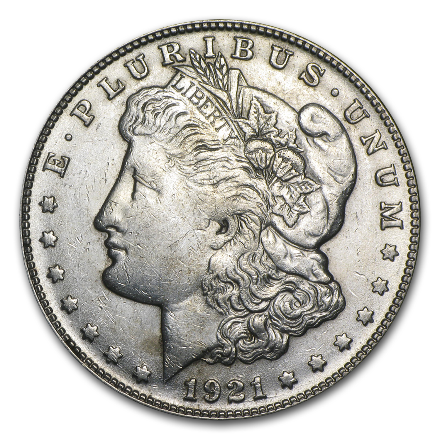 1921-S Morgan Dollar AU