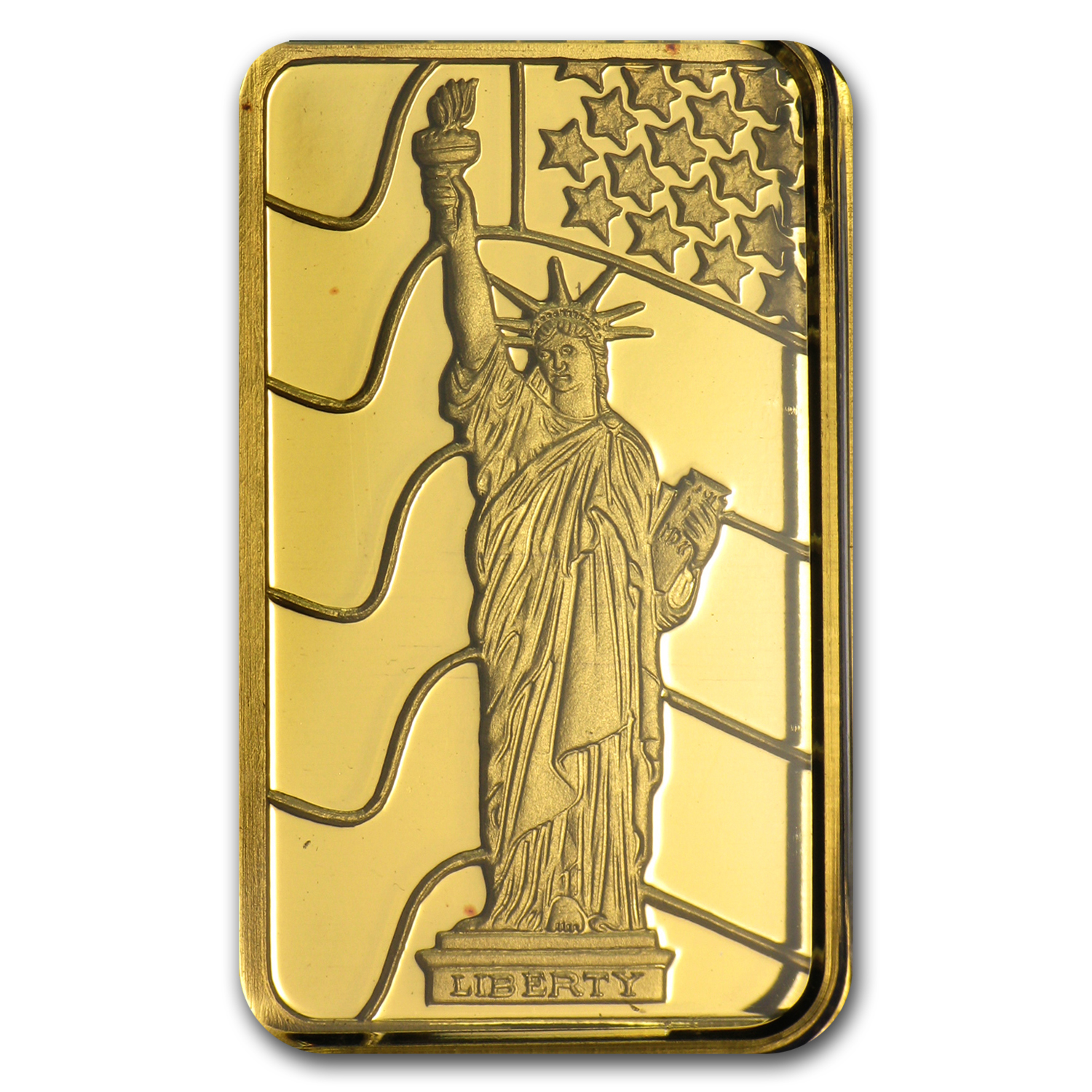 5 gram Gold Bars - Pamp Suisse (Statue of Liberty)