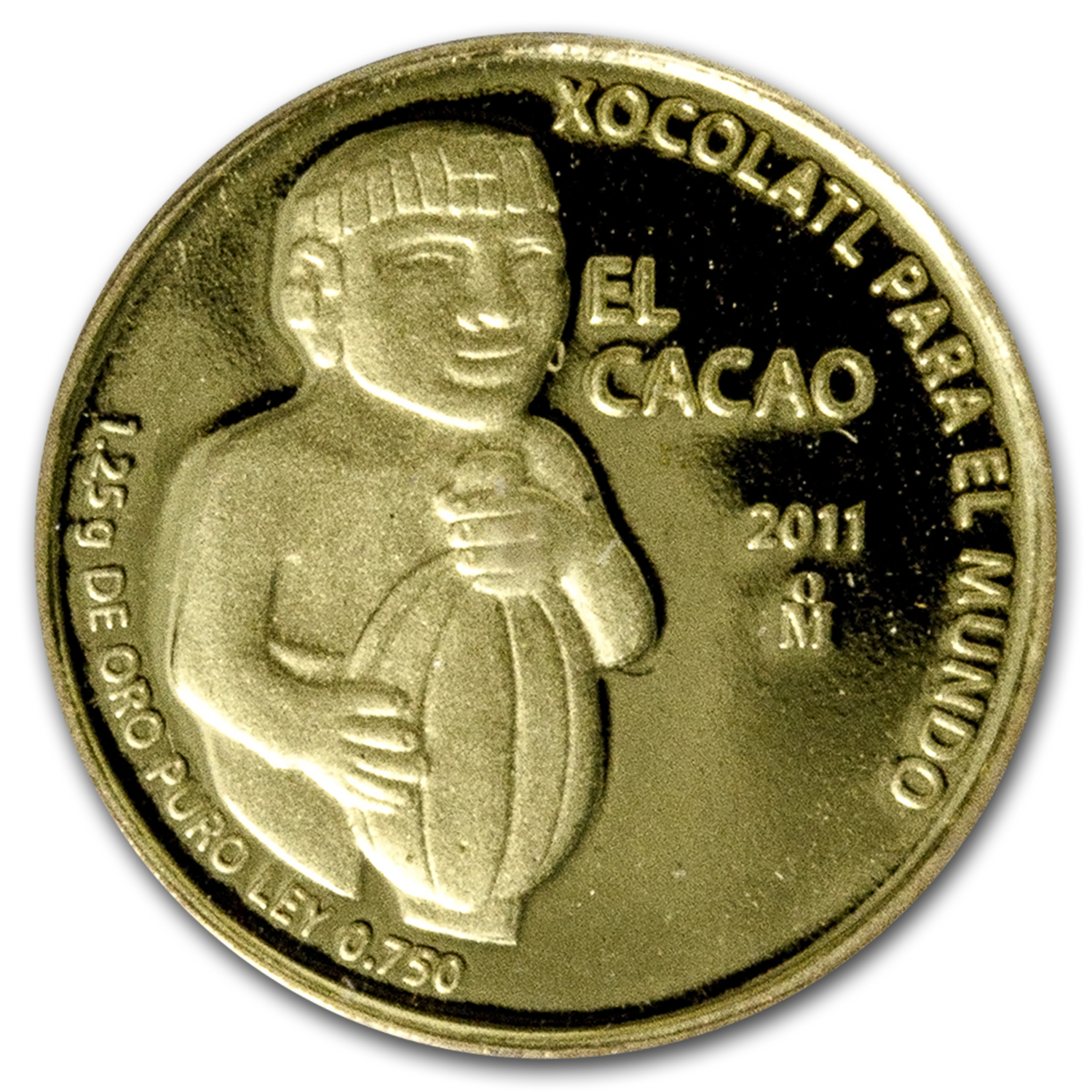 2011 Mexico Gold El Cacao Proof