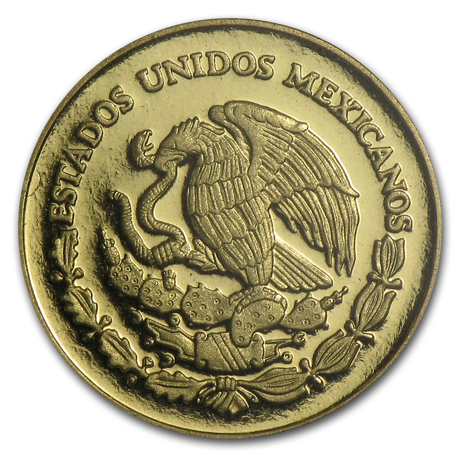 2011 Mexico Gold Español e Indígena Proof (Cacao bean case)