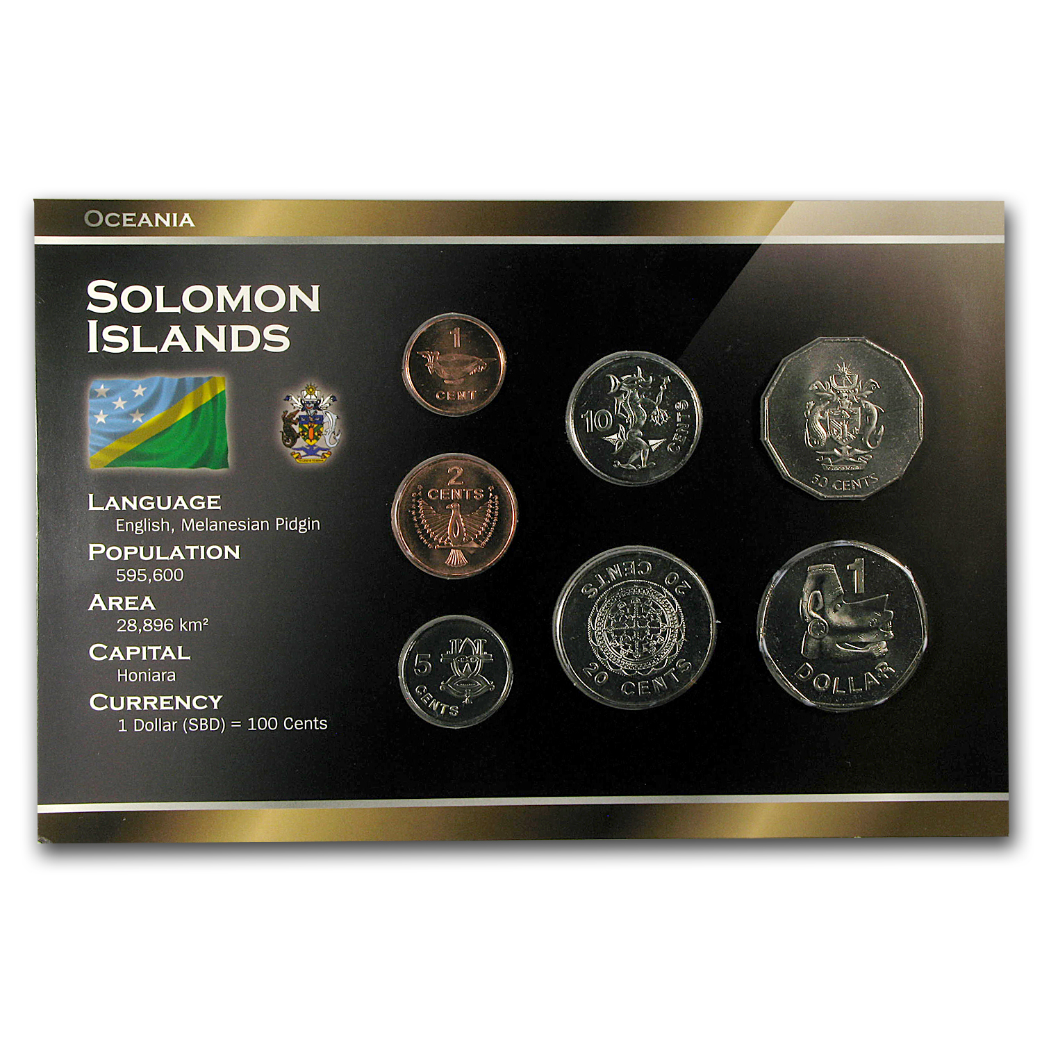 Solomon Islands Coin Set - 7 Coins