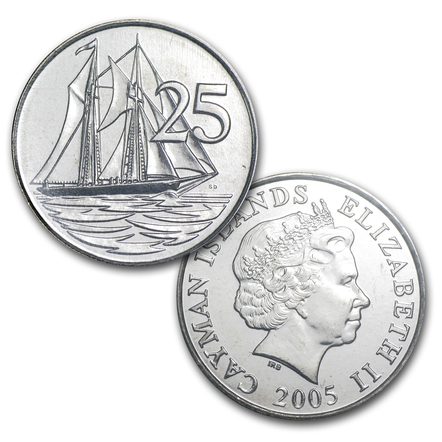 Cayman Islands Coin Set - 4 Coins