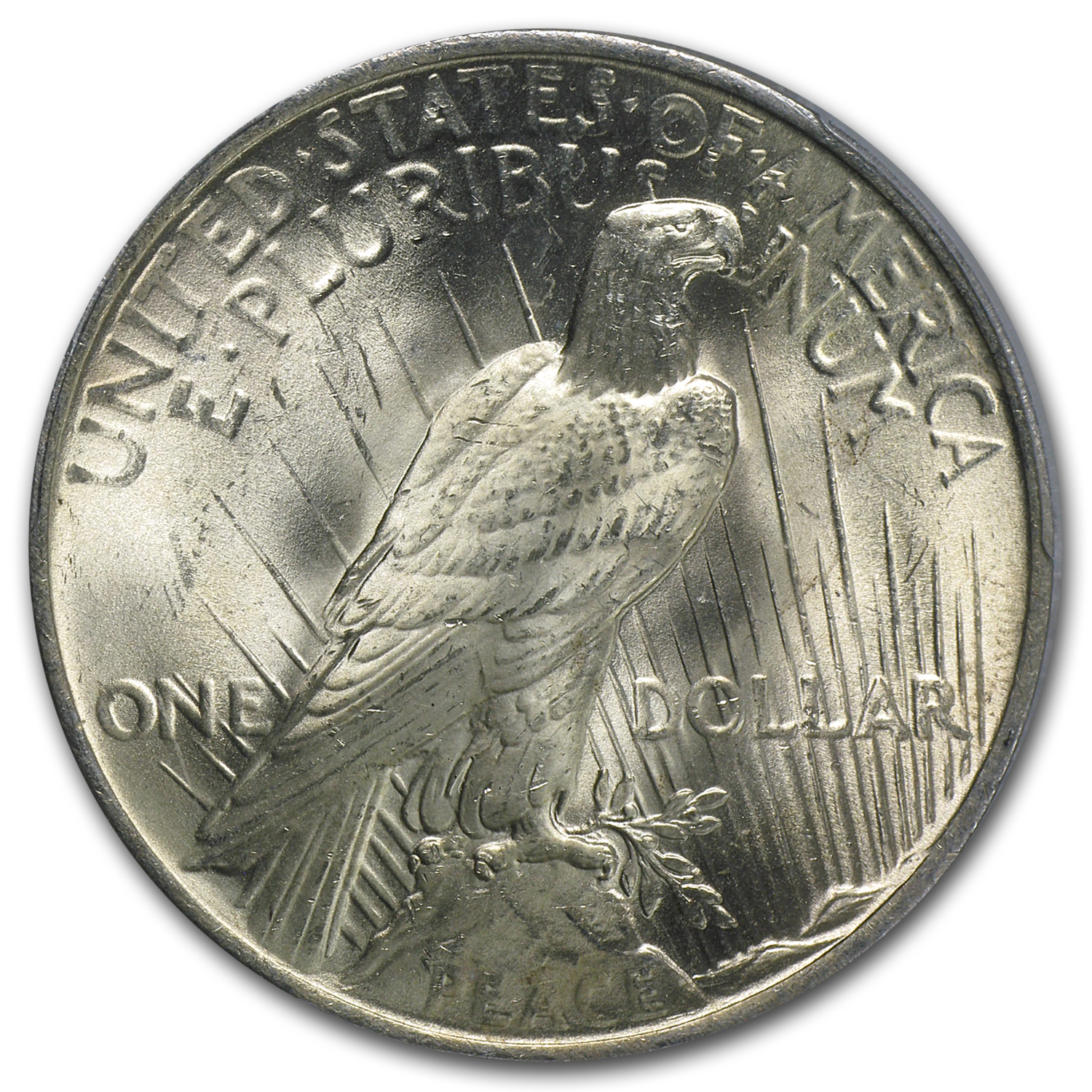 1922-1925 Peace Silver Dollars - MS-64 PCGS