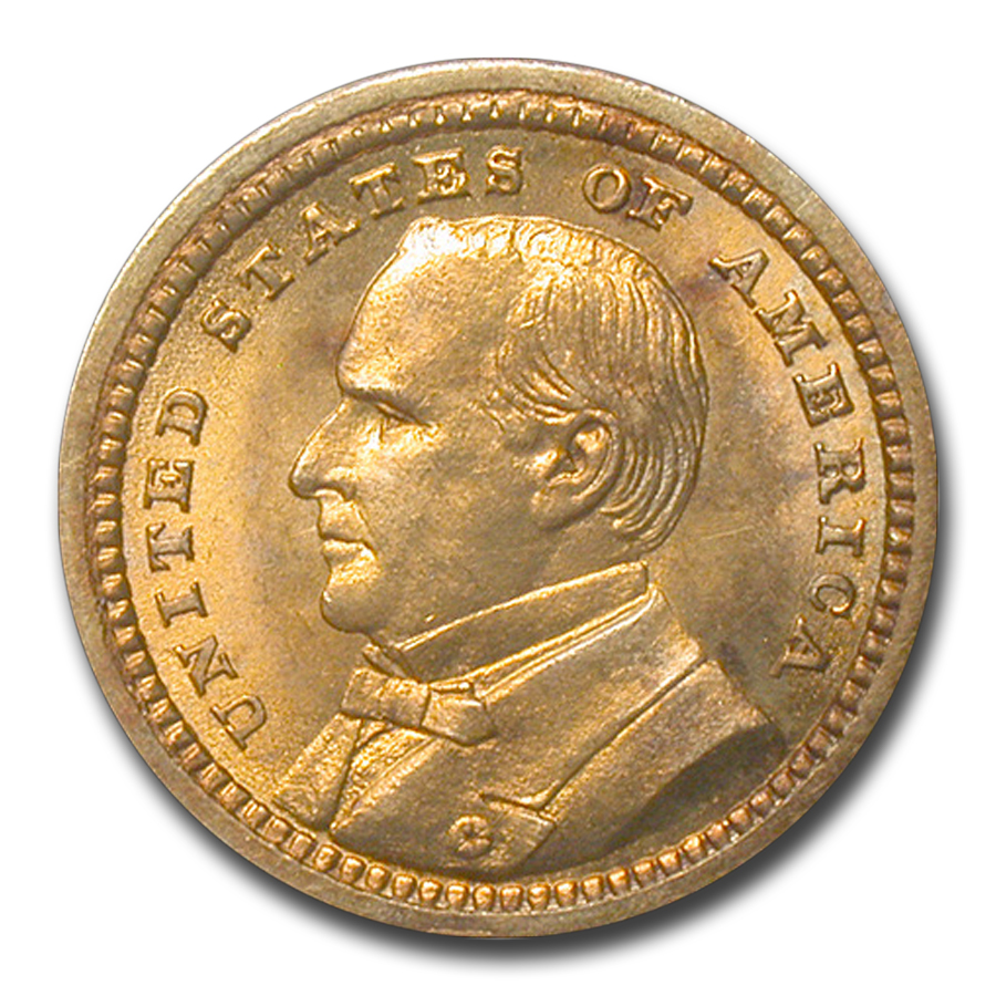 1903 $1.00 Gold Louisiana Purchase McKinley MS-63 PCGS