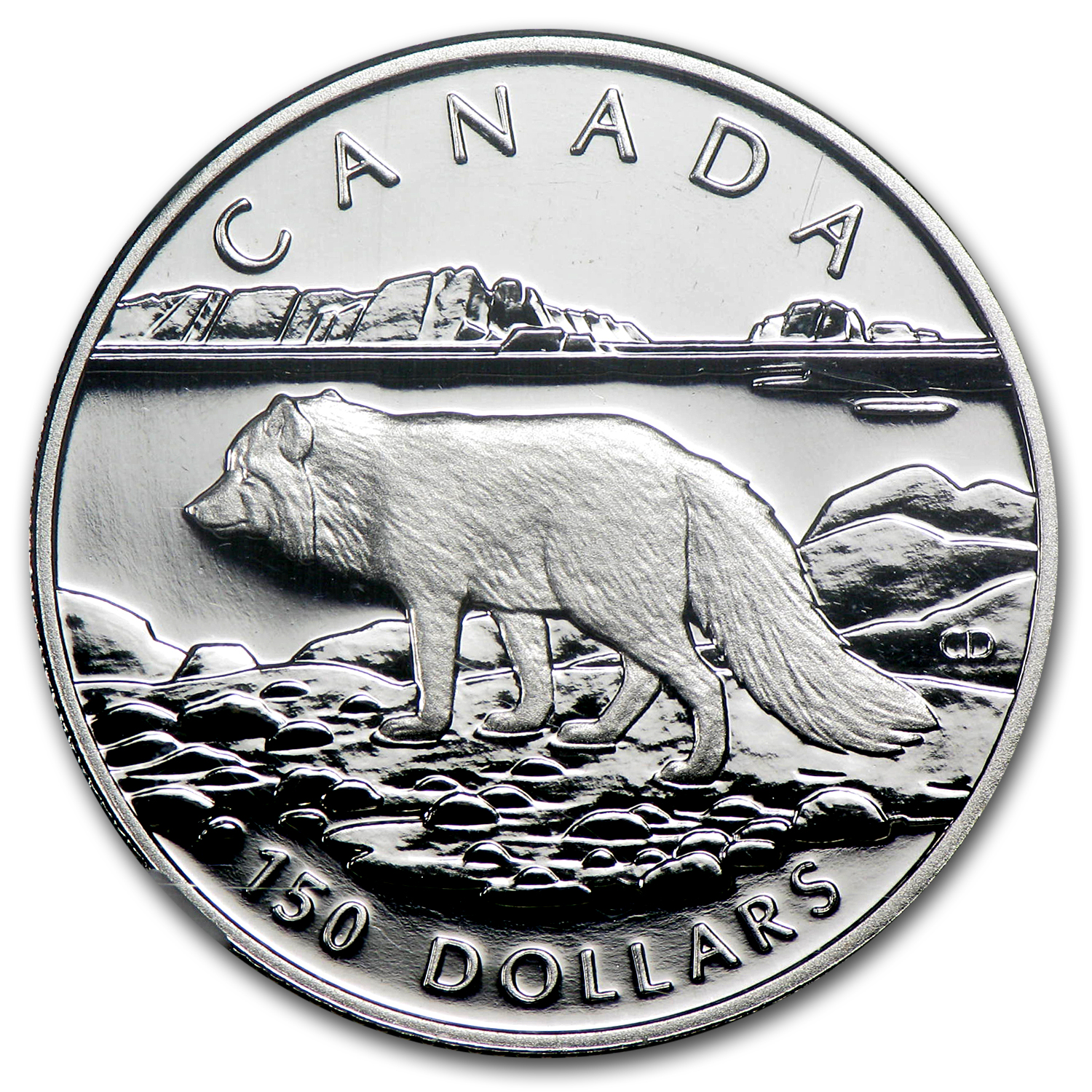1993 1/2 oz Proof Platinum Canadian Arctic Fox PF-70 NGC