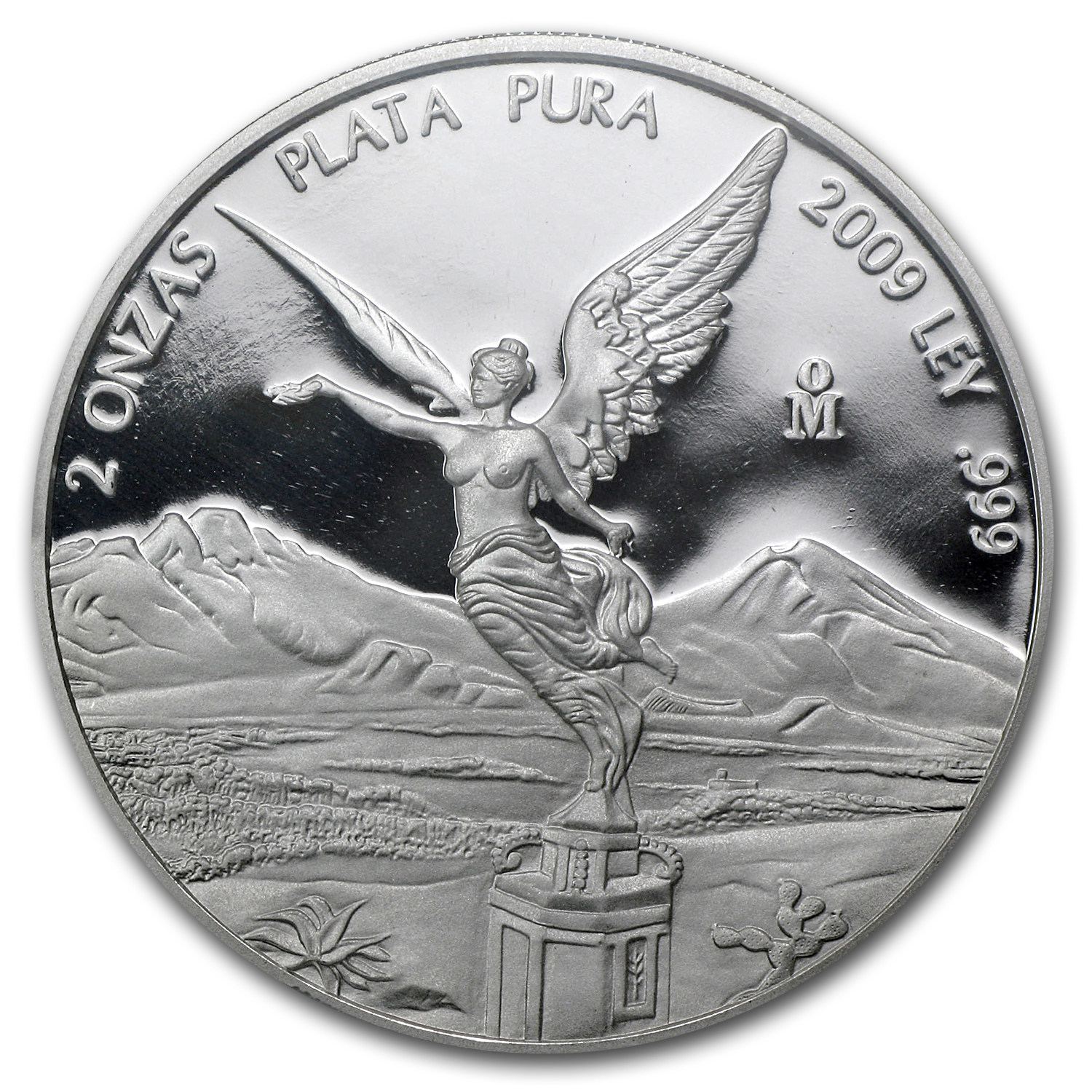 2009 Mexico 2 oz Proof Silver Libertad PR-70 PCGS