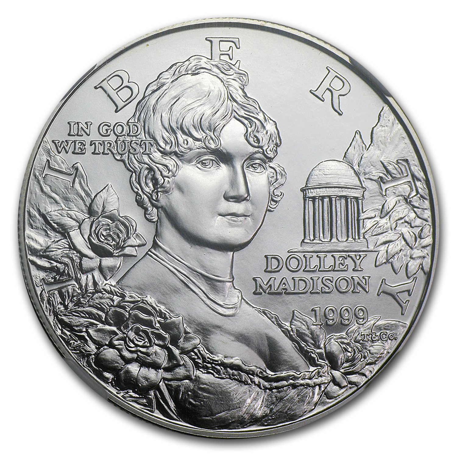 1999-P Dolley Madison $1 Silver Commemorative - MS-70 NGC
