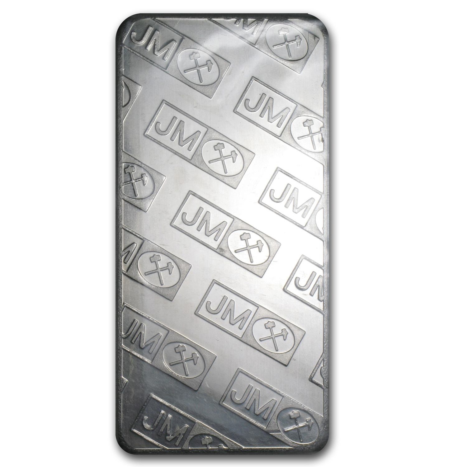 10 oz Palladium Bar - Johnson Matthey (Logo Back, No Assay)