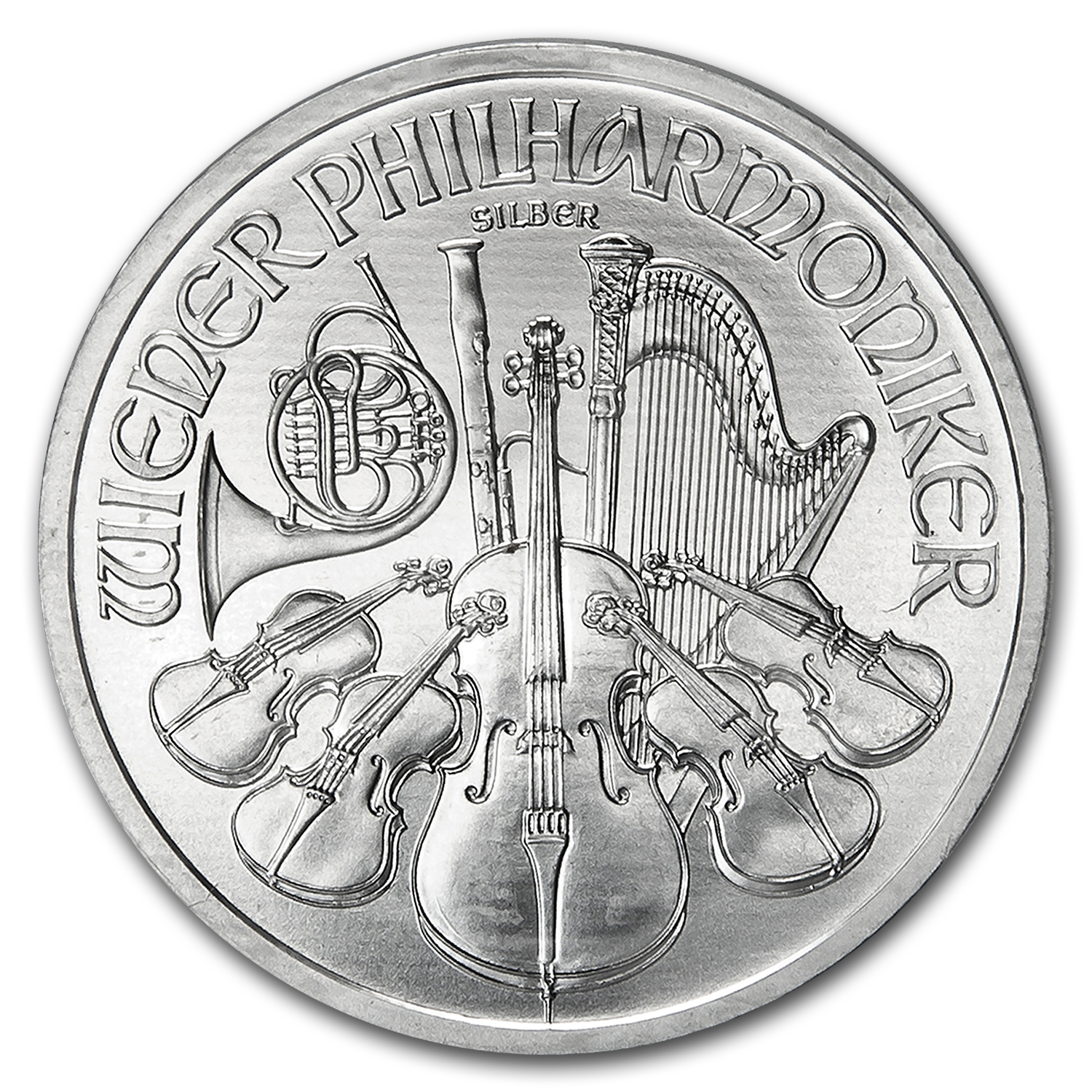 2012 1 oz Silver Austrian Philharmonics - Specially Sealed