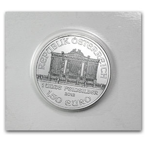 2012 1 oz Silver Austrian Philharmonic (Specially Sealed)