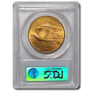 $20 Saint-Gaudens Gold Double Eagle - MS-63 PCGS