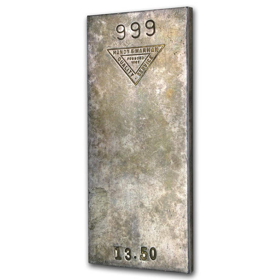 13 5 Oz Silver Bar Handy Amp Harman All Other Sizes