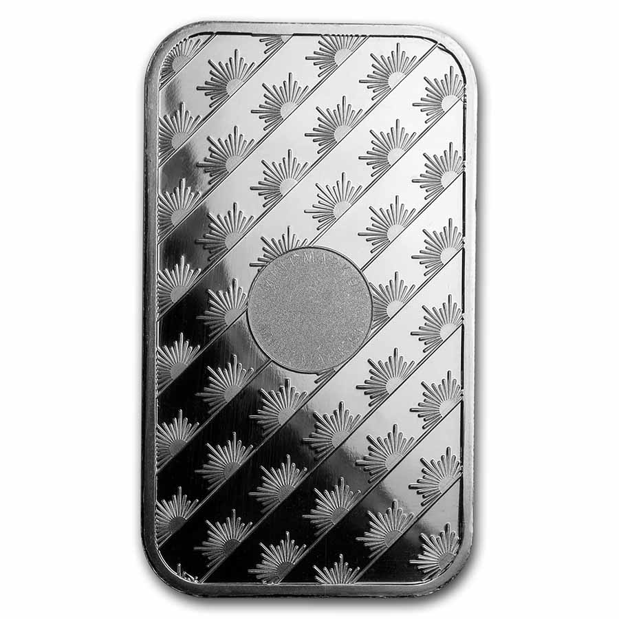 1 oz Silver Bar - Sunshine (MintMark SI)