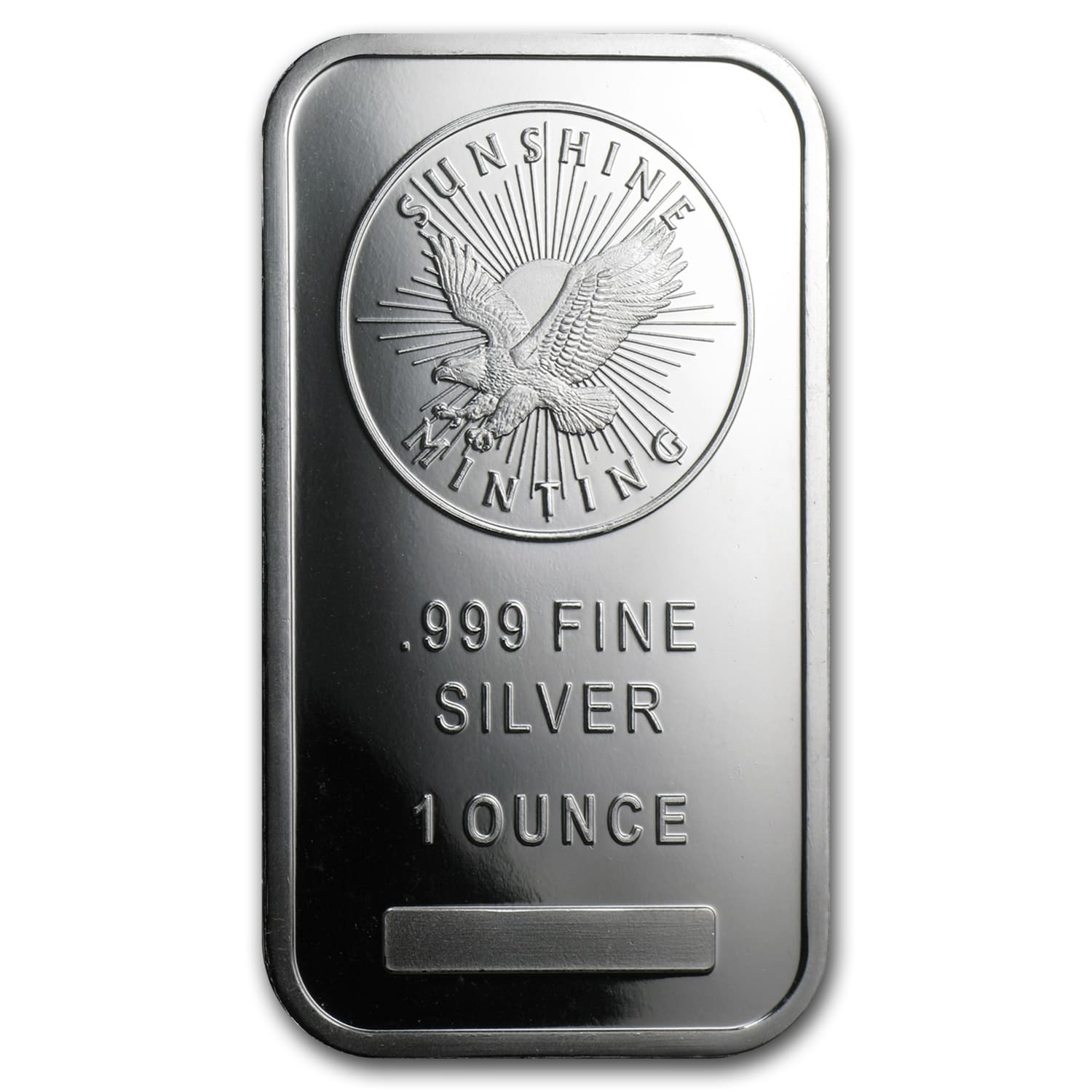1 oz Silver Bar - Sunshine (V2)
