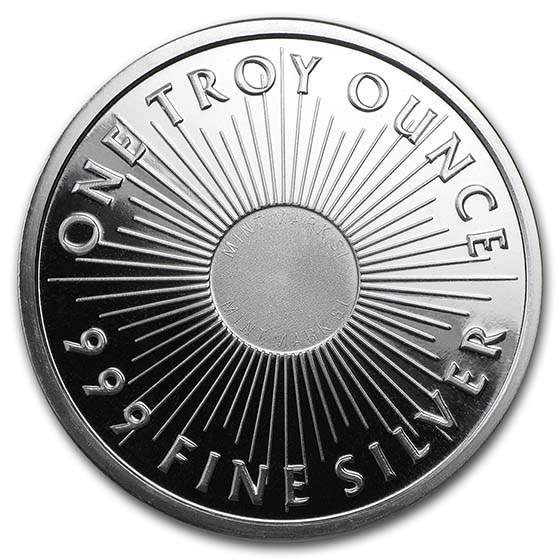 1 oz Silver Round - Sunshine Mint (V2)