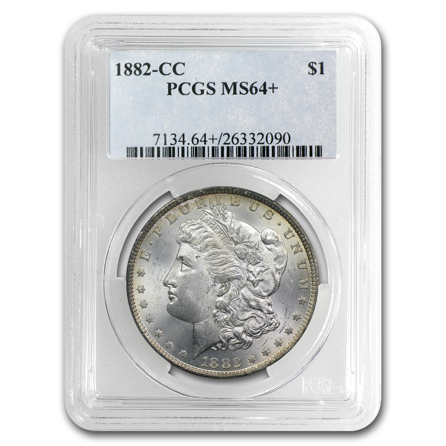 1882-CC Morgan Dollar MS-64+ Plus PCGS