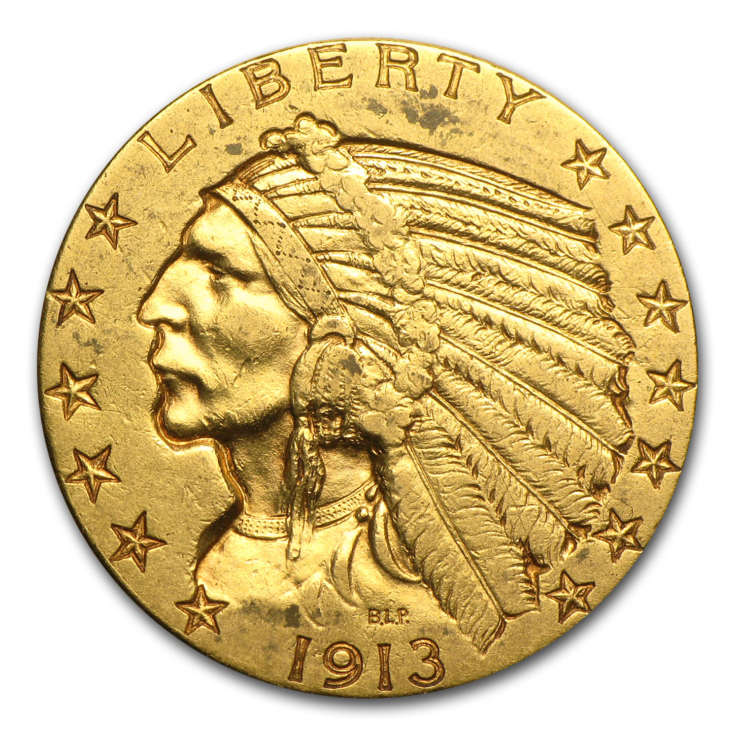 $5 Indian Gold Half Eagle XF (Random Year)