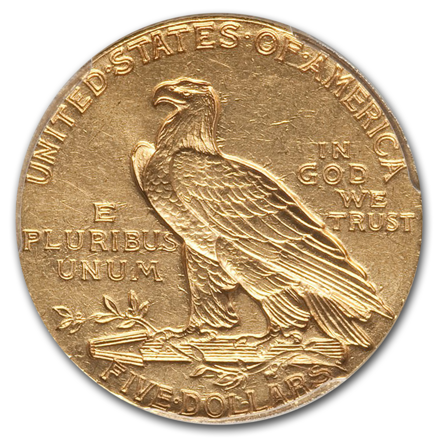 1912-S $5 Indian Gold Half Eagle AU-55 PCGS