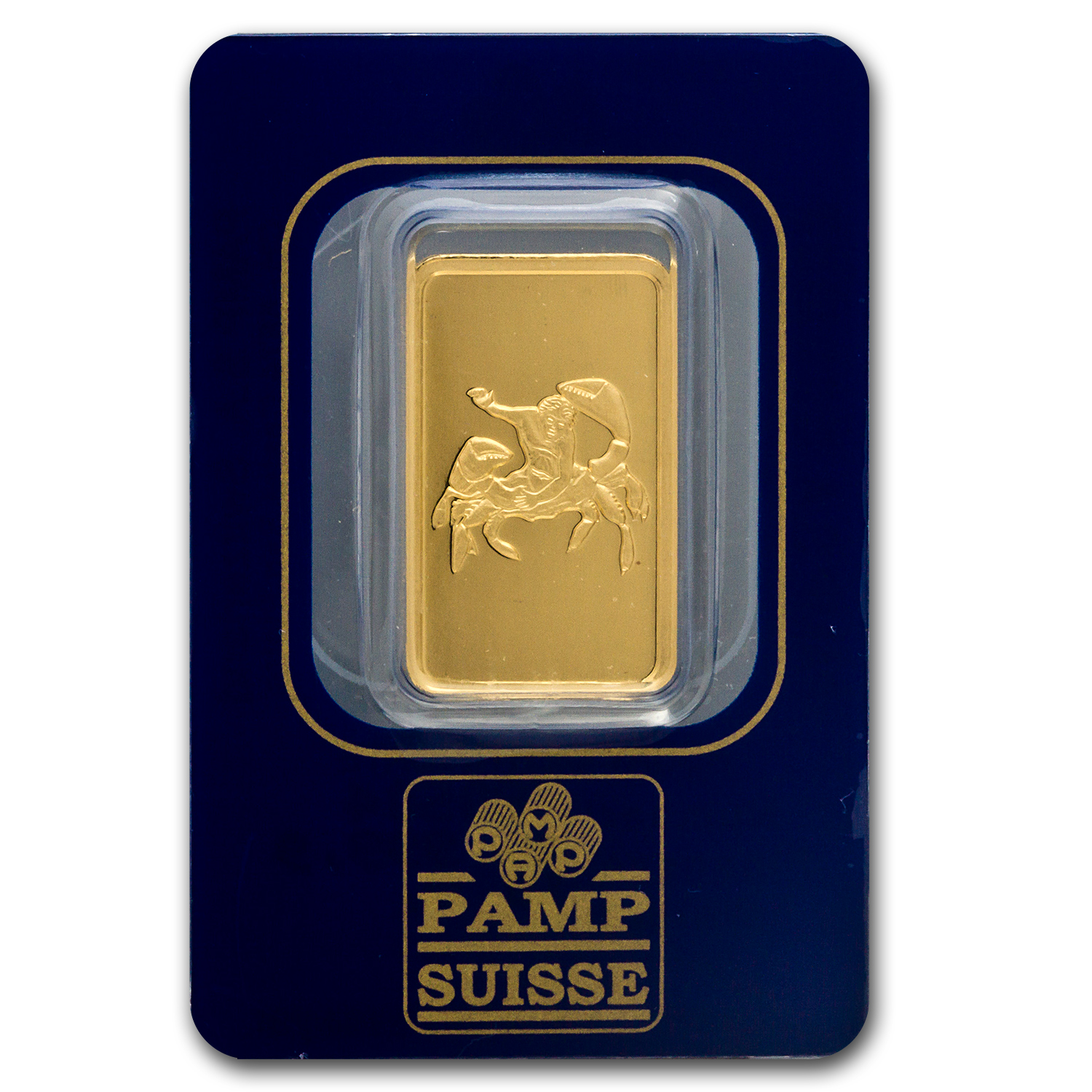10 gram Gold Bar - Pamp Suisse Cancer the Crab (In Assay)