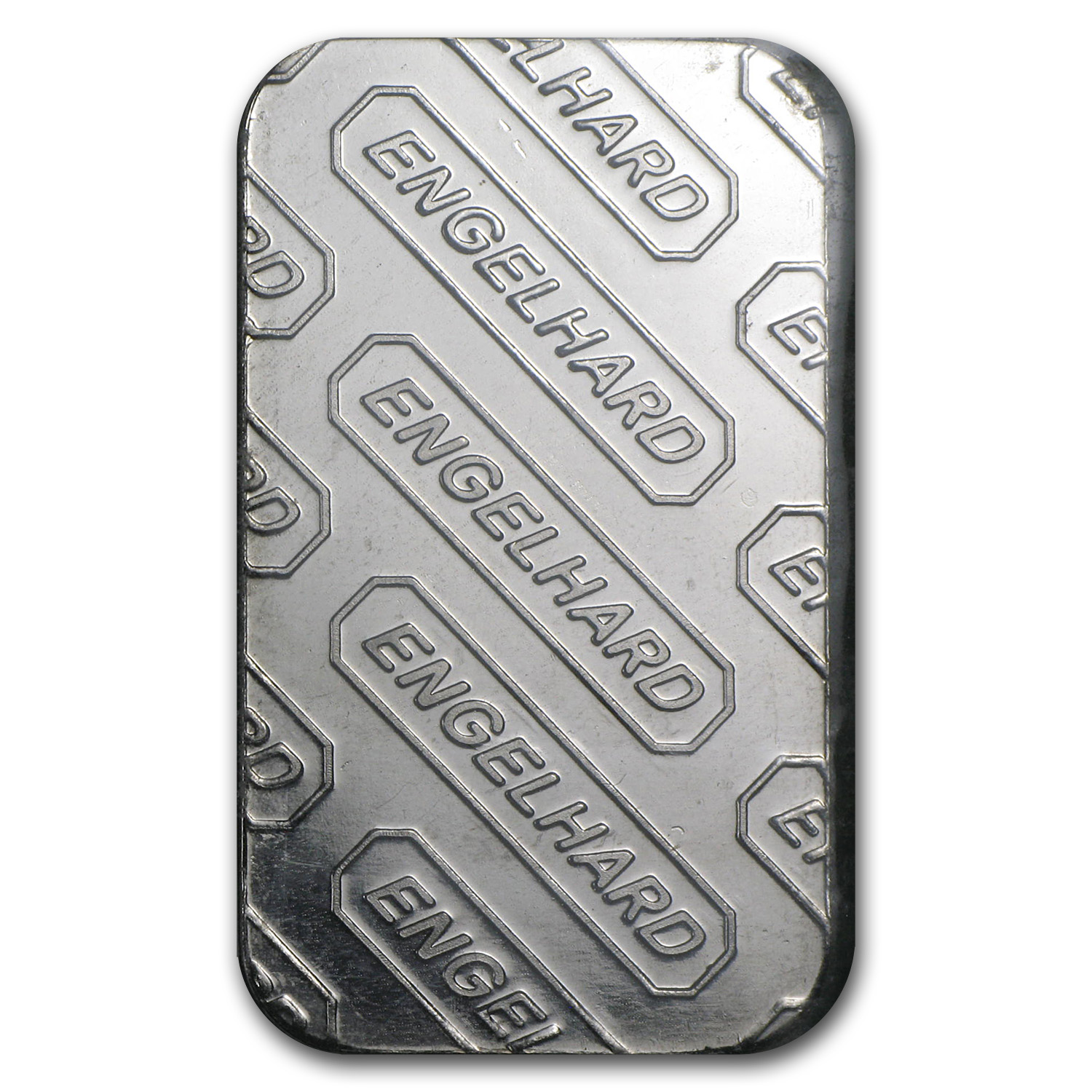 1 oz Engelhard Palladium Bar .999 Fine ('E' Logo, In Assay)