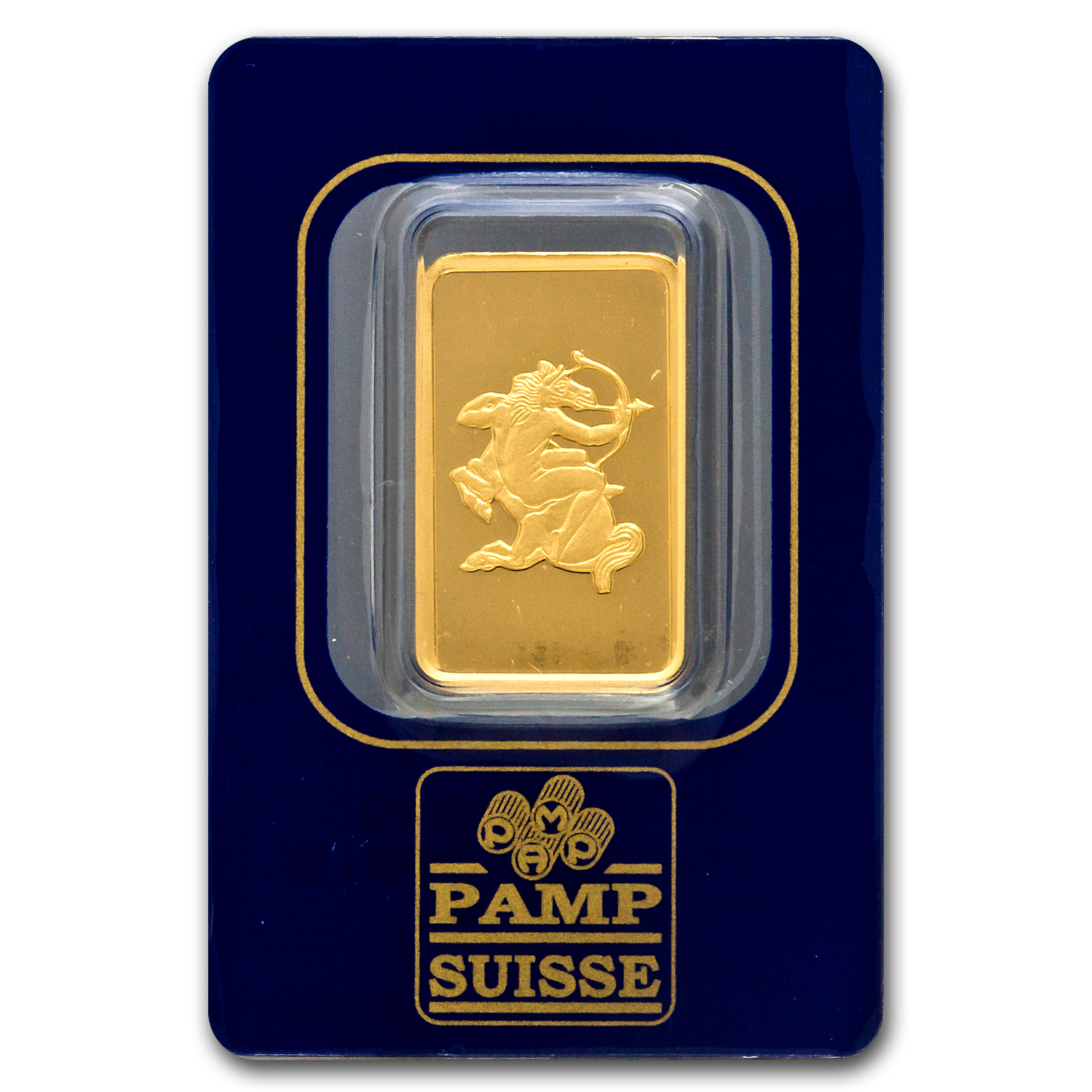 10 gram Gold Bar - Pamp Suisse Sagittarius the Archer (w/Assay)