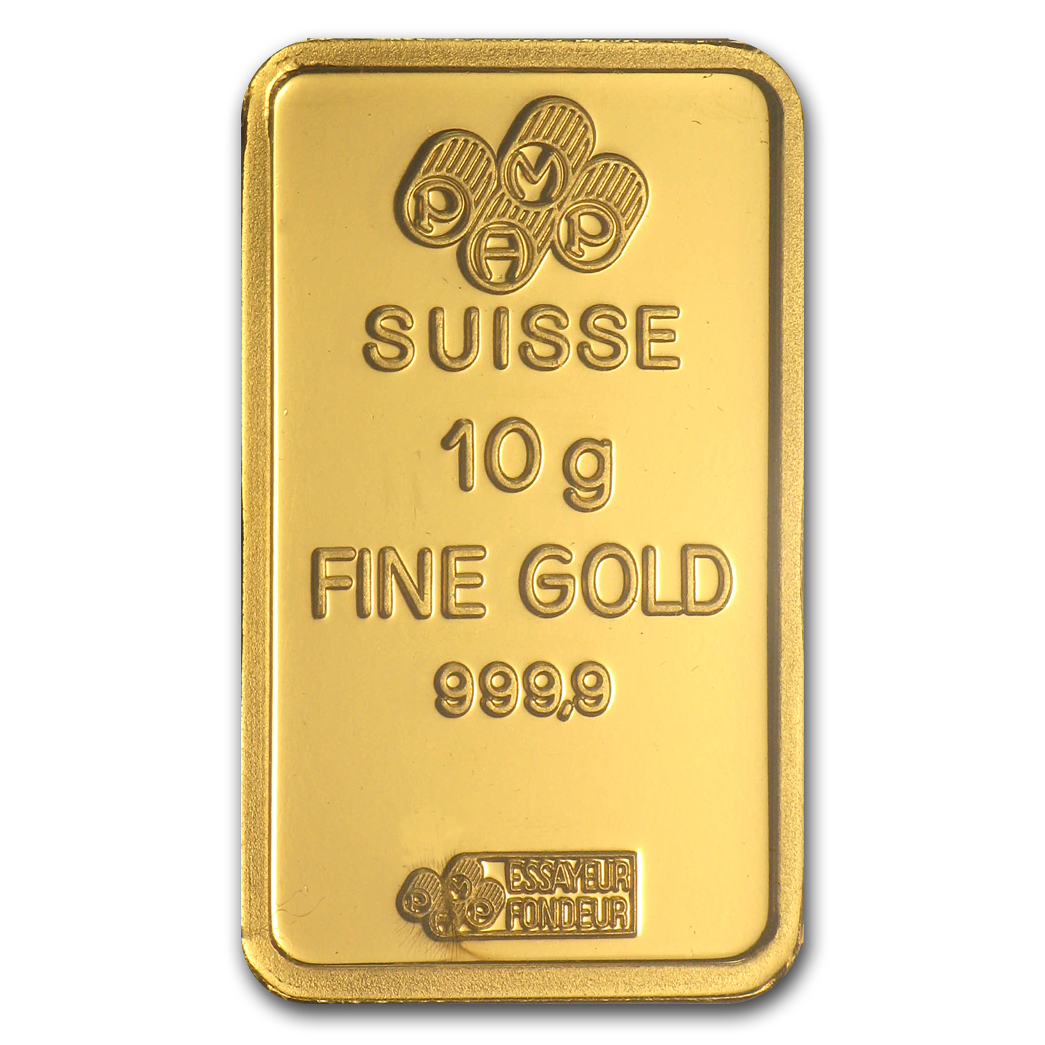 10 gram Gold Bars - Pamp Suisse (Scorpio the Scorpion, in assay)