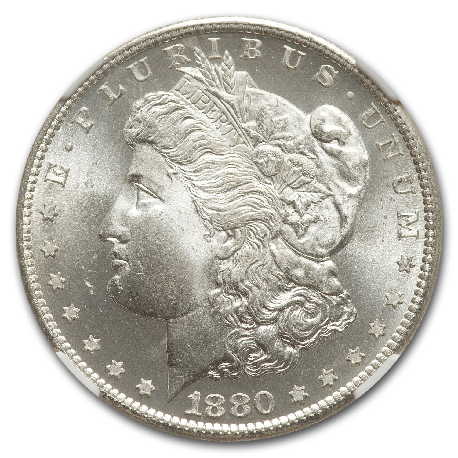 1880-S Morgan Dollar MS-67 NGC
