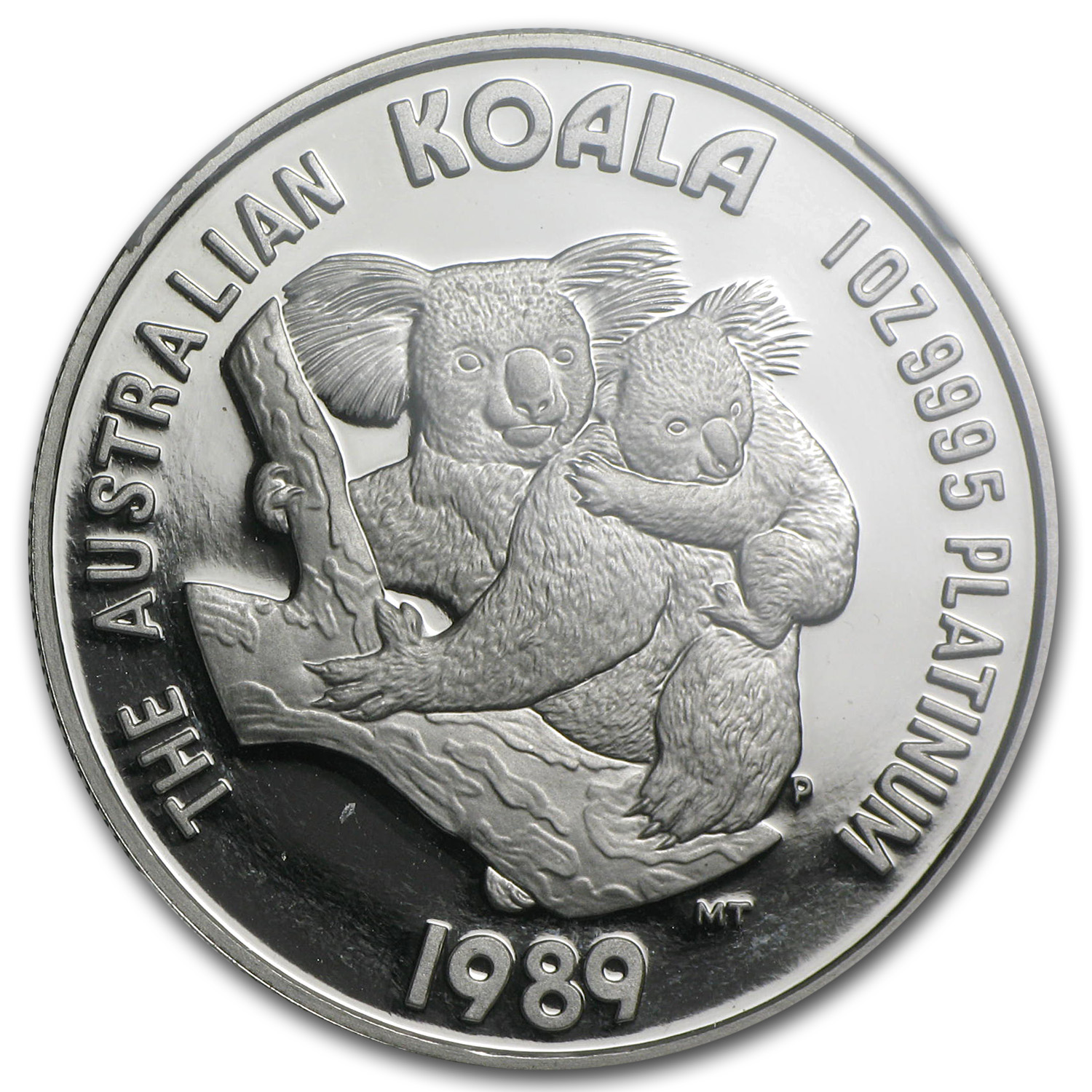 1989 Australia 1 oz Proof Platinum Koala PF-69 NGC