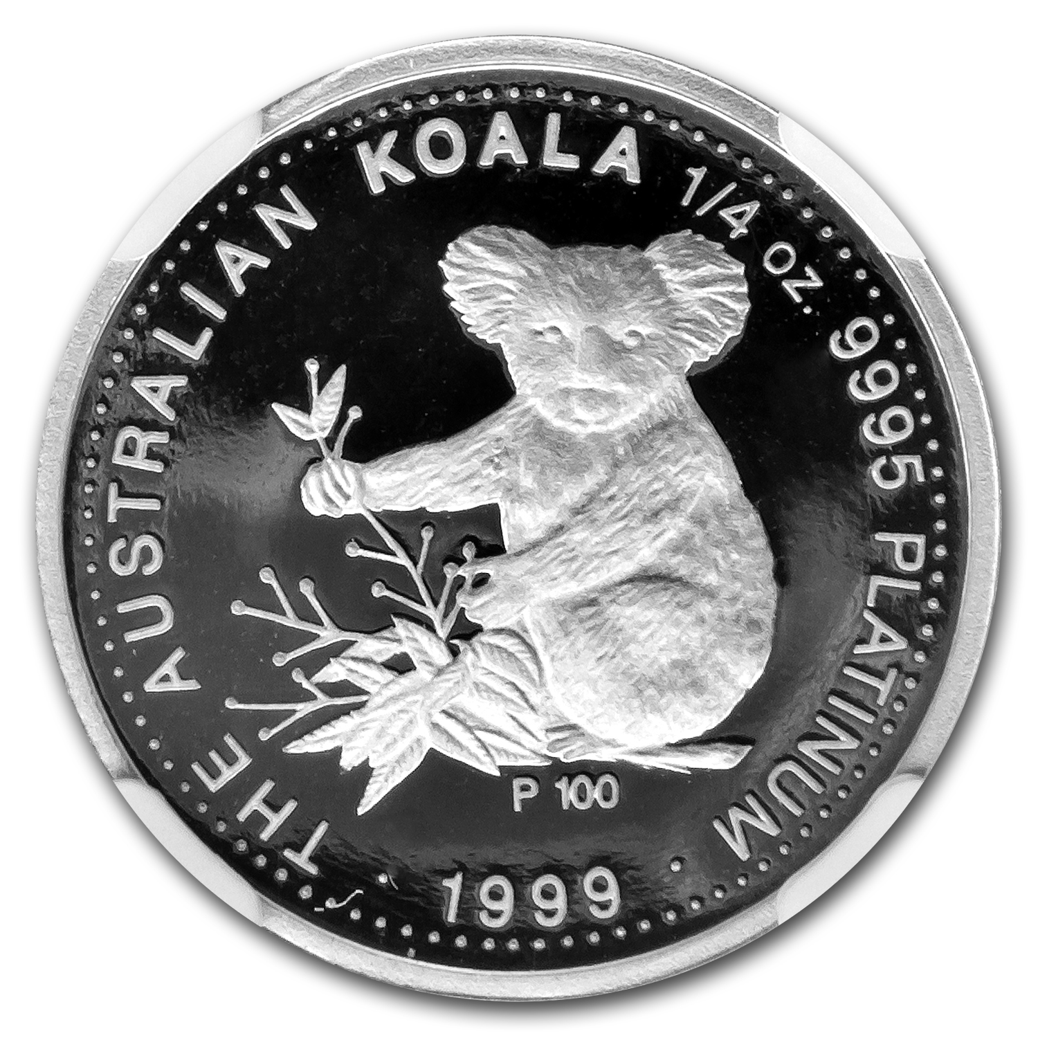 1999 Australia 1/4 oz Proof Platinum Koala PF-69 NGC