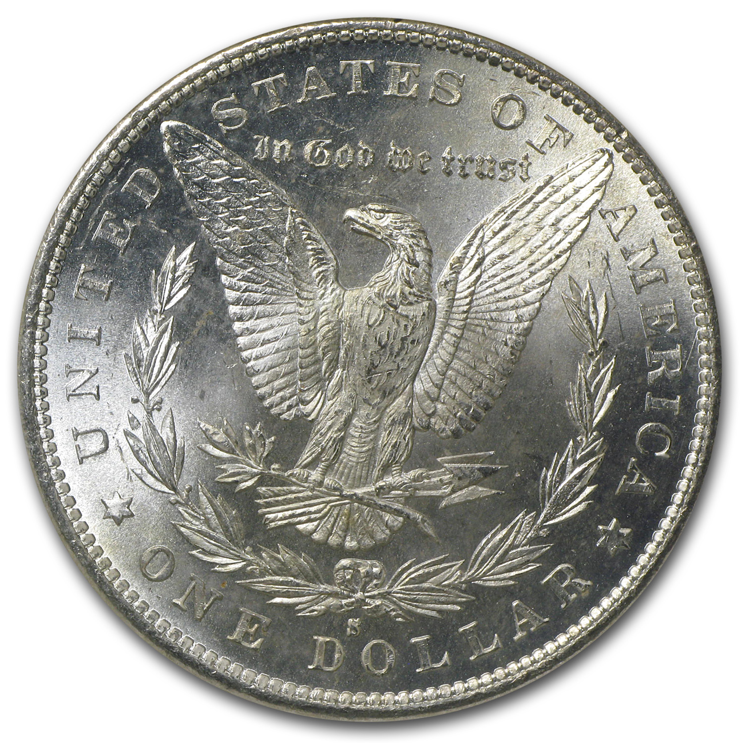 1879-S Morgan Dollar - MS-64 NGC