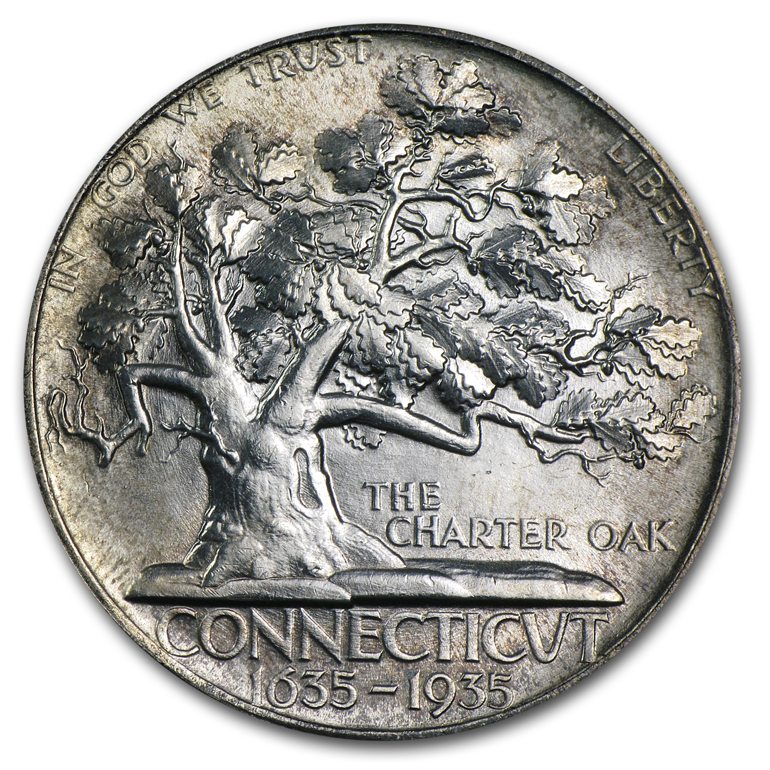 1935 Connecticut Tercentennary - Brilliant Uncirculated