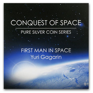 2011 Niue 1 oz Silver $2 Coin First Man in Space