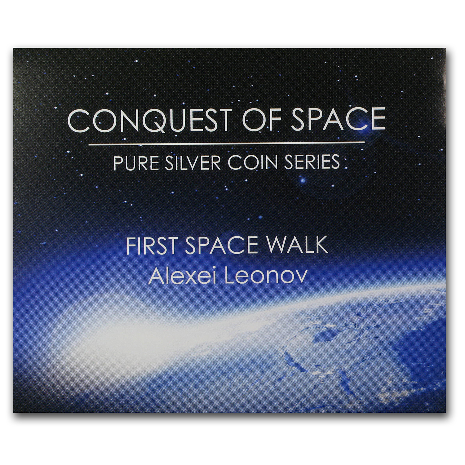 2011 1 oz Silver Niue $2 Coin - First Space Walk
