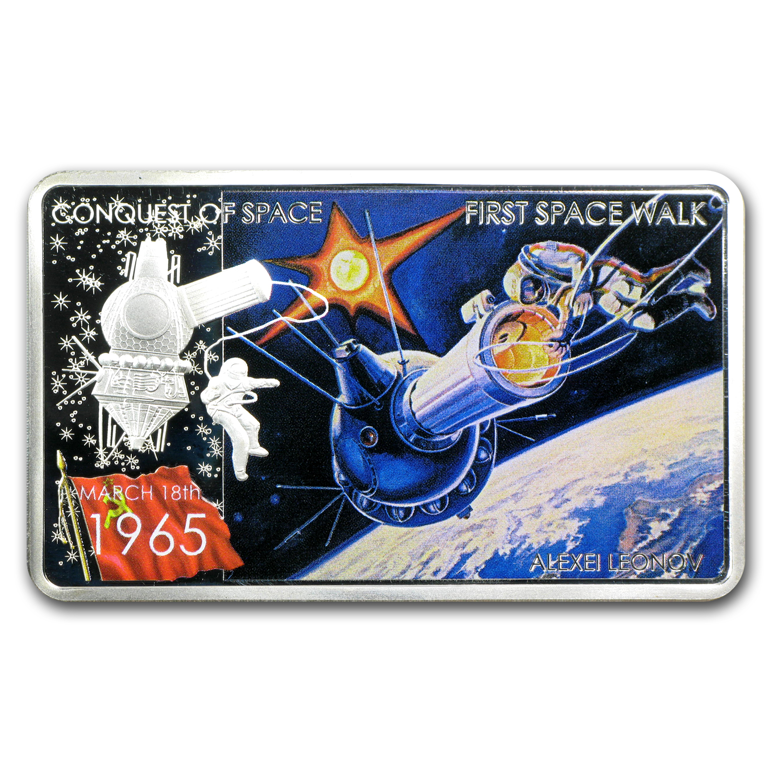 2011 Niue 1 oz Silver $2 Coin First Space Walk