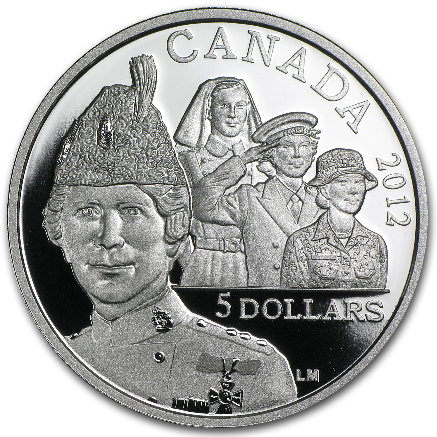 2012 Canada Silver $5 Georgina Pope Commemorative Proof