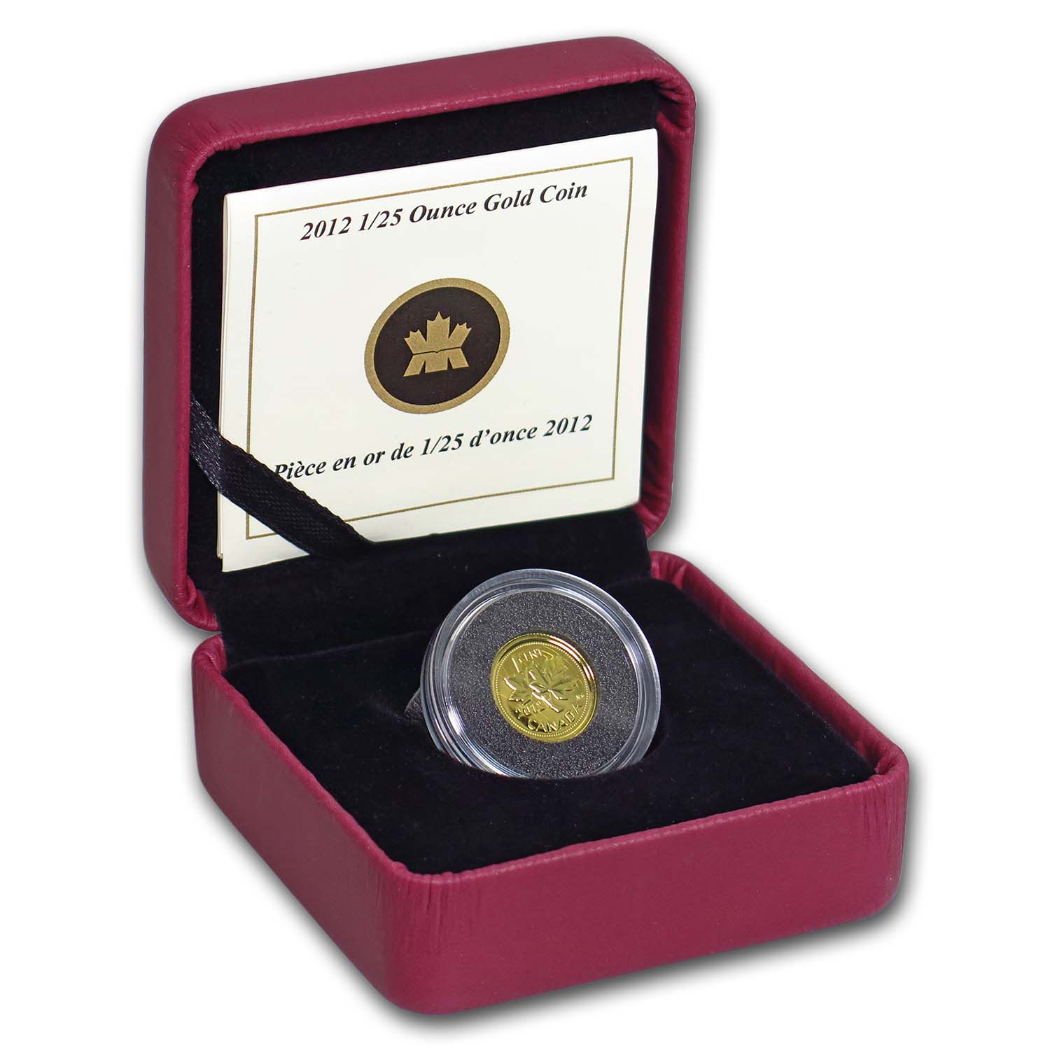 2012 Canada 1/25 oz Proof Gold Farewell to the Penny