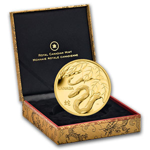 2013 Gold Kilo Canadian $2,500 Year of the Snake - Proof