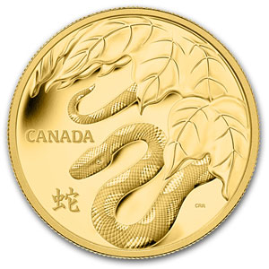 2013 Canada 1 kilo Gold $2,500 Year of the Snake Proof